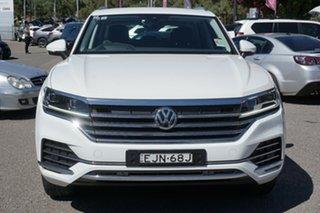 2020 Volkswagen Touareg CR MY20 190TDI Tiptronic 4MOTION White 8 Speed Sports Automatic Wagon.