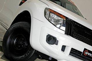 2012 Ford Ranger PX XL 2.2 Hi-Rider (4x2) White 6 Speed Automatic Crew Cab Pickup.