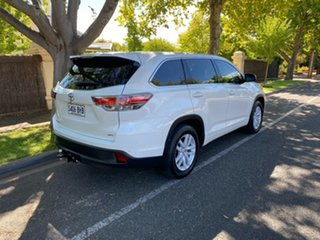 2015 Toyota Kluger GSU55R GX AWD White 6 Speed Sports Automatic Wagon