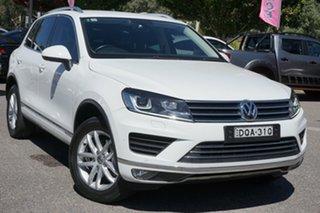 2017 Volkswagen Touareg 7P MY17 150TDI Tiptronic 4MOTION Element White 8 Speed Sports Automatic.