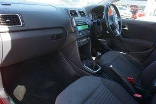 2012 Volkswagen Polo 6R MY12.5 77TSI Comfortline Red 6 Speed Manual Hatchback