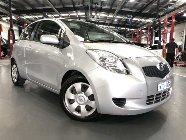 Pre-Owned Toyota Yaris NCP91R YRS Oakleigh, 2008 Toyota Yaris NCP91R YRS Silver 4 Speed Automatic Hatchback