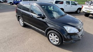 2007 Honda CR-V RE MY2007 Luxury 4WD Black 5 Speed Automatic Wagon.