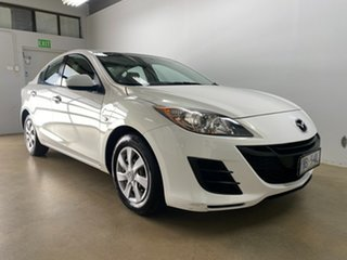 2009 Mazda 3 BL Neo White 6 Speed Manual Sedan.