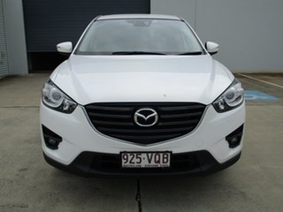 2015 Mazda CX-5 KE1032 Maxx SKYACTIV-Drive AWD Sport White 6 Speed Sports Automatic Wagon.