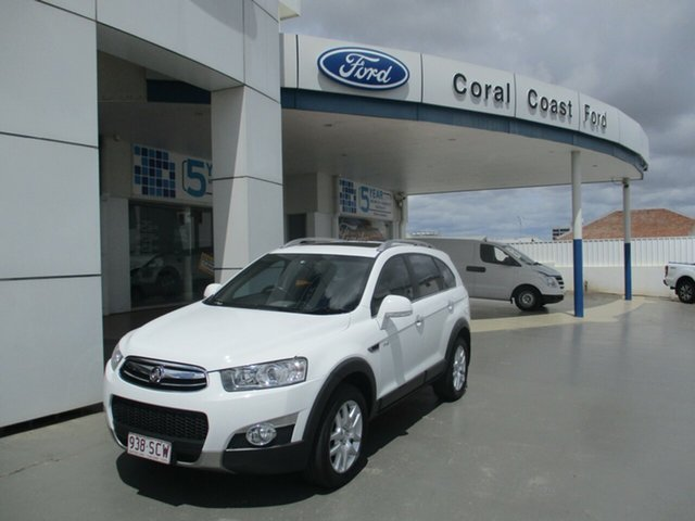Used Holden Captiva CG MY10 LX (4x4) Bundaberg, 2011 Holden Captiva CG MY10 LX (4x4) White 5 Speed Automatic Wagon