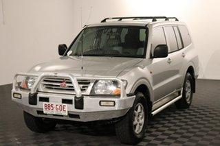 2002 Mitsubishi Pajero NM MY2002 Commonwealth Games Edition GLX Silver 5 speed Automatic Wagon.