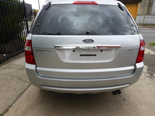 2008 Ford Territory SY Turbo AWD Ghia Silver 6 Speed Sports Automatic Wagon