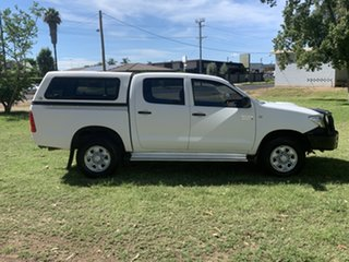 2010 Toyota Hilux KUN26R MY10 SR White 4 Speed Automatic Utility