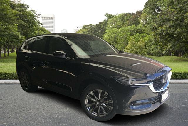Demo Mazda CX-5 KF4WLA Akera SKYACTIV-Drive i-ACTIV AWD Paradise, 2020 Mazda CX-5 KF4WLA Akera SKYACTIV-Drive i-ACTIV AWD Jet Black 6 Speed Sports Automatic Wagon