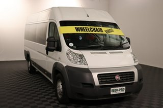 2013 Fiat Ducato Series II MY12 Mid Roof XLWB MTA White 6 speed Automatic Van.