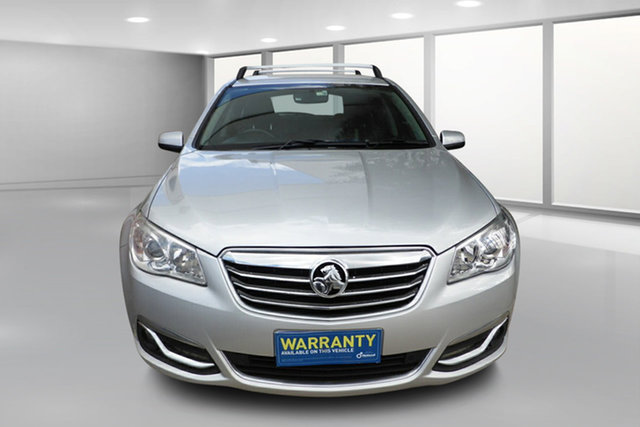 Used Holden Calais VF MY14 Sportwagon West Footscray, 2013 Holden Calais VF MY14 Sportwagon Silver 6 Speed Sports Automatic Wagon
