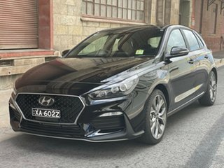 2020 Hyundai i30 PD.V4 MY21 N Line Phantom Black 6 Speed Manual Hatchback