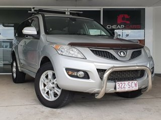 2012 Great Wall X200 K2 MY12 Silver 6 Speed Manual Wagon.