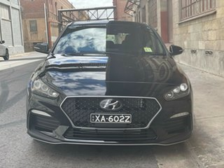2020 Hyundai i30 PD.V4 MY21 N Line Phantom Black 6 Speed Manual Hatchback.