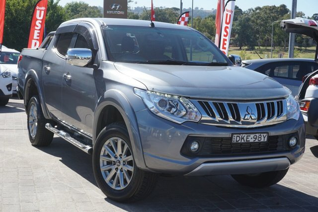 Used Mitsubishi Triton MQ MY16 GLS Double Cab Phillip, 2016 Mitsubishi Triton MQ MY16 GLS Double Cab Grey 5 Speed Sports Automatic Utility