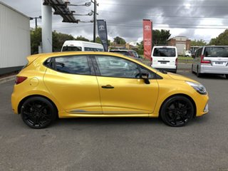 2014 Renault Clio IV B98 R.S. 200 EDC Sport Yellow 6 Speed Sports Automatic Dual Clutch Hatchback.