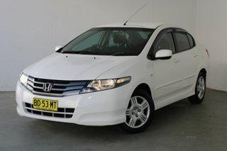 2009 Honda City GM MY09 VTi White 5 Speed Automatic Sedan