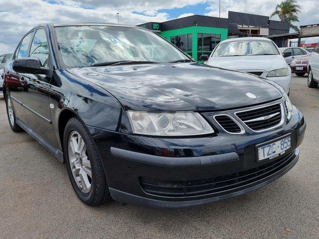 Used Saab 9-3 440 MY2005 Linear Sport Cheltenham, 2005 Saab 9-3 440 MY2005 Linear Sport Black 5 Speed Sports Automatic Sedan