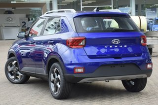 2020 Hyundai Venue QX.V3 MY21 Active Intense Blue 6 Speed Automatic Wagon.