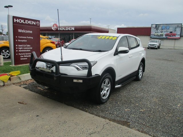 Used Toyota RAV4 ASA44R GX AWD North Rockhampton, 2016 Toyota RAV4 ASA44R GX AWD White 6 Speed Sports Automatic Wagon