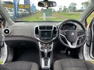 2017 Holden Barina TM MY18 LS White 6 Speed Automatic Hatchback