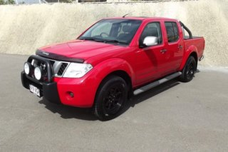 2014 Nissan Navara D40 S7 Titanium Red 6 Speed Manual Utility.