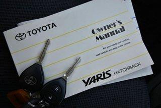 2010 Toyota Yaris NCP90R MY10 YR Silver 4 Speed Automatic Hatchback