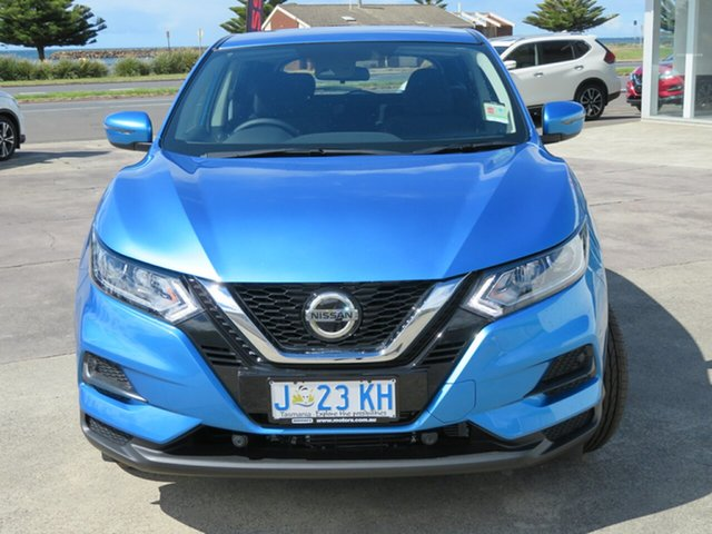 Demo Nissan Qashqai J11 Series 3 MY20 ST X-tronic Burnie, 2020 Nissan Qashqai J11 Series 3 MY20 ST X-tronic Vivid Blue 1 Speed Constant Variable Wagon