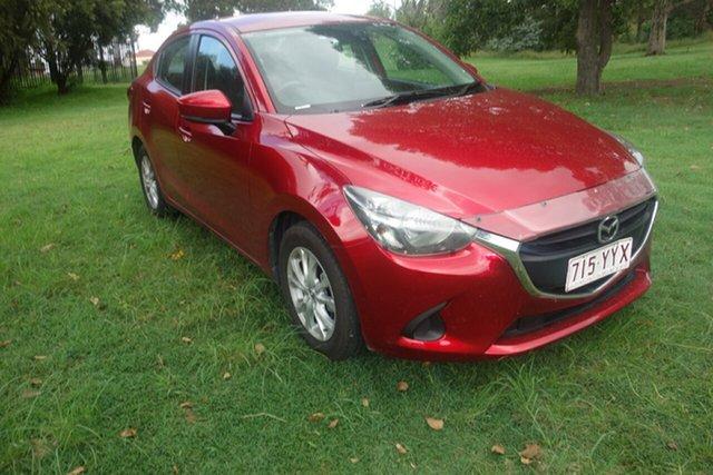 Used Mazda 2 DL2SAA Maxx SKYACTIV-Drive East Maitland, 2018 Mazda 2 DL2SAA Maxx SKYACTIV-Drive Red 6 Speed Sports Automatic Sedan