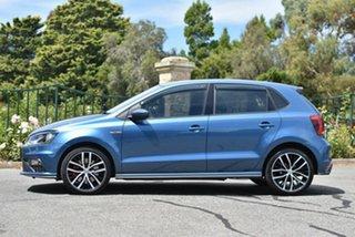 2017 Volkswagen Polo 6R MY17 GTI DSG Blue 7 Speed Sports Automatic Dual Clutch Hatchback
