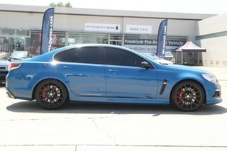 2014 Holden Special Vehicles ClubSport Gen F R8 Blue 6 Speed Manual Sedan