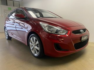 2018 Hyundai Accent RB6 MY19 Sport Red 6 Speed Automatic Hatchback.