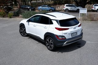 2020 Hyundai Kona Highlander 2WD ATLAS WHITE 8 Speed Constant Variable Wagon.
