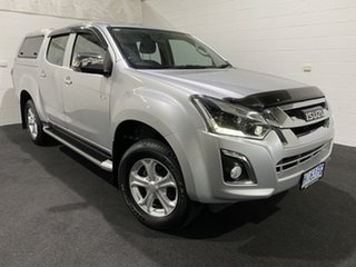 2017 Isuzu D-MAX MY17 LS-U Crew Cab Silver 6 Speed Sports Automatic Utility