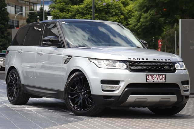 Used Land Rover Range Rover Sport L494 MY15 SDV6 HSE Newstead, 2014 Land Rover Range Rover Sport L494 MY15 SDV6 HSE Silver 8 Speed Sports Automatic Wagon