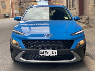 2020 Hyundai Kona Os.v4 MY21 2WD Surfy Blue 8 Speed Automatic Wagon