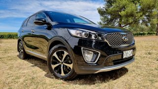 2016 Kia Sorento UM MY16 SLi AWD Aurora Black 6 Speed Sports Automatic Wagon.
