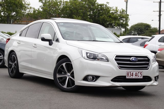 Used Subaru Liberty B6 MY16 2.5i CVT AWD Premium Mount Gravatt, 2016 Subaru Liberty B6 MY16 2.5i CVT AWD Premium White 6 Speed Constant Variable Sedan