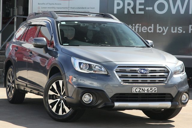 Pre-Owned Subaru Outback B6A MY15 2.5i CVT AWD Premium Guildford, 2015 Subaru Outback B6A MY15 2.5i CVT AWD Premium Grey 6 Speed Constant Variable Wagon