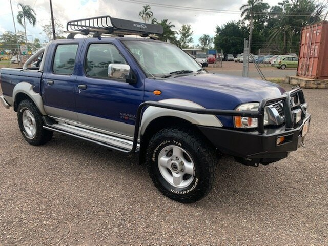 Used Nissan Navara Pinelands, 2005 Nissan Navara STX Blue 5 Speed Manual Dual Cab