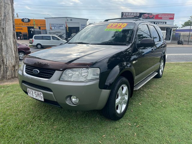Used Ford Territory SY TS AWD Clontarf, 2006 Ford Territory SY TS AWD Black 6 Speed Sports Automatic Wagon