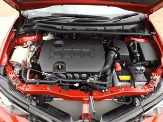 2015 Toyota Corolla ZRE182R SX S-CVT Red 7 Speed Constant Variable Hatchback