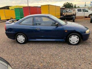 2002 Mitsubishi Lancer GLi Blue 5 Speed Manual Coupe