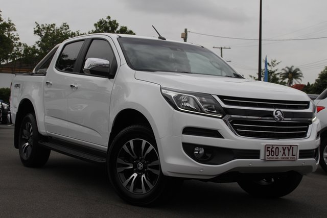 Used Holden Colorado RG MY18 LTZ Pickup Crew Cab Mount Gravatt, 2018 Holden Colorado RG MY18 LTZ Pickup Crew Cab White 6 Speed Sports Automatic Utility