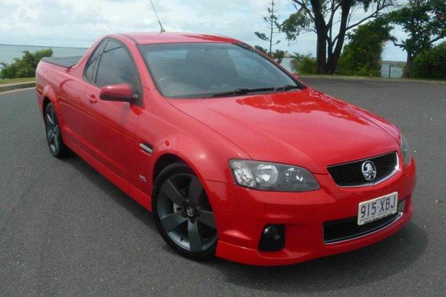 Used Holden Ute VE II MY12.5 SV6 Z Series Gladstone, 2013 Holden Ute VE II MY12.5 SV6 Z Series Red 6 Speed Manual Utility