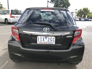 2016 Toyota Yaris NCP130R Ascent Black 4 Speed Automatic Hatchback