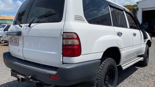 2004 Toyota Landcruiser HZJ105 4x4 White 5 Speed Manual Wagon