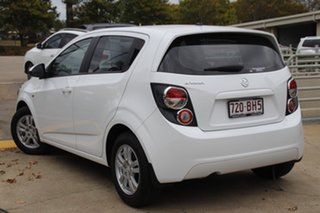 2012 Holden Barina TM MY13 CD White 6 Speed Automatic Hatchback