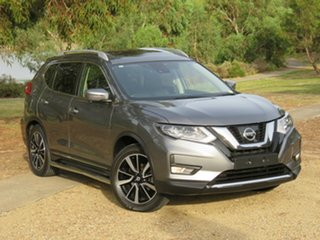 2017 Nissan X-Trail T32 Series II Ti X-tronic 4WD Grey 7 Speed Constant Variable Wagon.